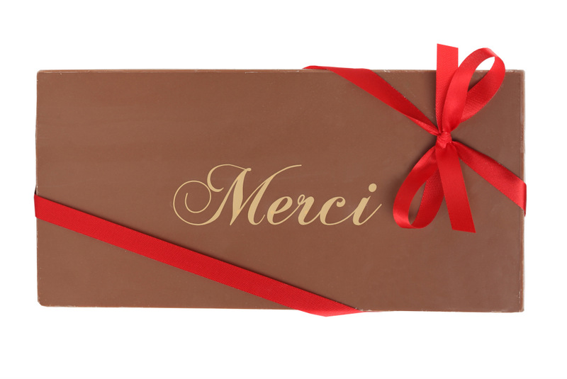 "Message ""Merci"